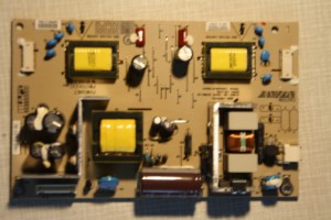 Power supply of the Sony LCD